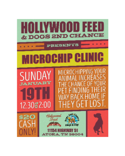 MICROCHIP HOLLYWOOD FEED SUN JAN 19 2020 12:30PM-2PM