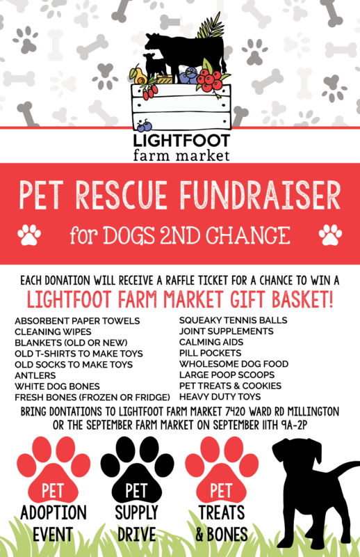 Pet Rescue Fundraiser Lightfoot Farm Sep 21 2021