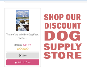 Tase of the Wild dog food