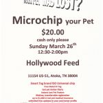 Microchip your pet March 18 2017 Hollywood Feed